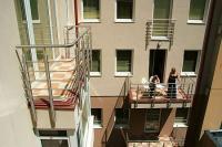 Six Inn Hotel Budapest centrumában, erkélyes olcsó szállás Budapesten Six Inn Hotel Budapest - akciós 3 csillagos hotel közel a Nyugati pályaudvarhoz Budapesten -