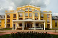 Az 5 csillagos Polus Palace Thermal Golf Club Hotel főépülete Pólus Palace Golf Club Hotel Göd - termál wellness és golf club Gödön -